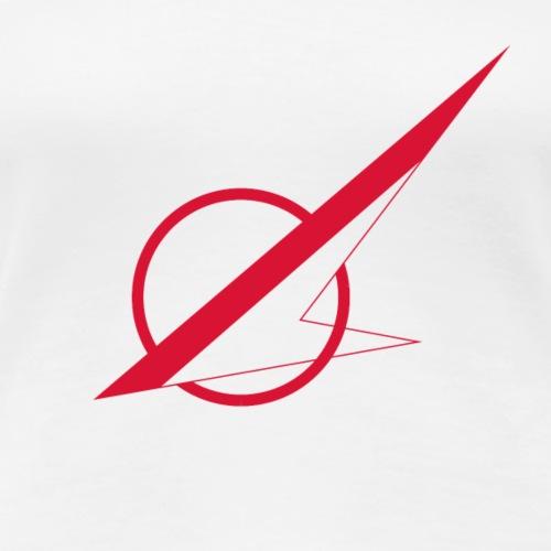 Øst Sjællands flyveklub Logo (uden tekst) - Dame premium T-shirt