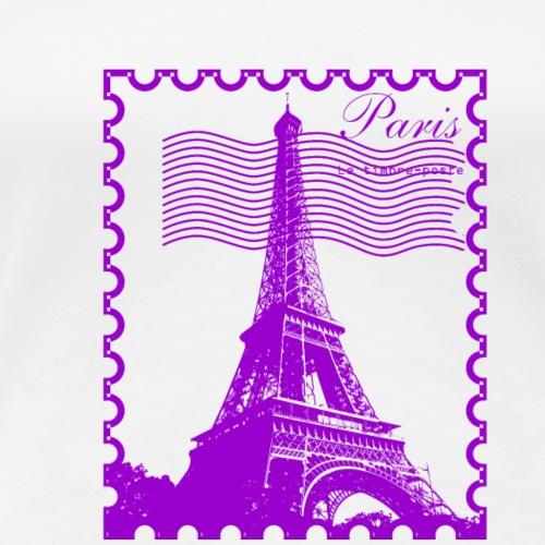 Paris stamp - Women's Premium T-Shirt