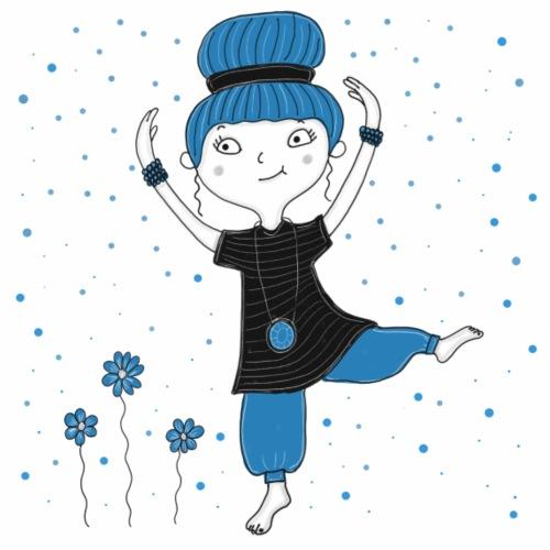 Bine - Tanz ins Blaue - Frauen Premium T-Shirt
