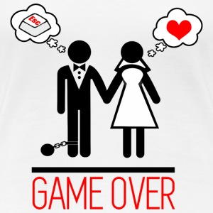 Game over - Couples - Licence - T-shirt Premium Femme