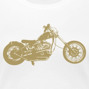 Bike · LogoArt - Frauen Premium T-Shirt