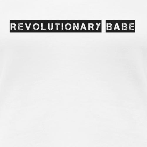 Revolutionary babe - Revolutionär Ding - Frauen Premium T-Shirt