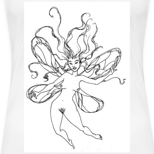 une elfe - T-shirt Premium Femme