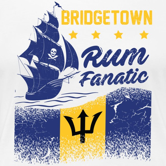 T-shirt Rum Fanatic - Bridgetown - Barbados