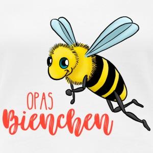 Opas Bienchen - Frauen Premium T-Shirt