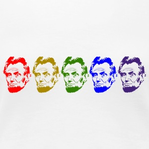 Abraham Lincoln - Women's Premium T-Shirt