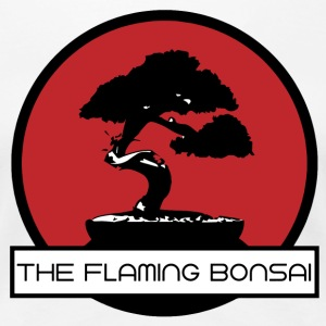 The Flaming Bonsai Finale Firmenlogo - Frauen Premium T-Shirt