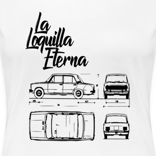 Diseño 124 La Loquilla - Camiseta premium mujer