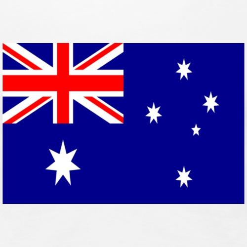 Australia flag - Women's Premium T-Shirt