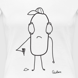 Chillions ice baby Ice Cream sad - Premium-T-shirt dam