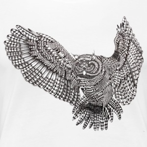 flyingowl - Dame premium T-shirt