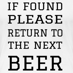Return to Beer - Women's Premium T-Shirt