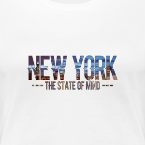 New York - The State of Mind 2 - Koszulka damska Premium