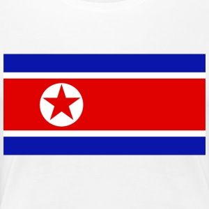 NORDKOREA / NORTH KOREA T-SHIRT - Women's Premium T-Shirt
