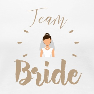 Team Bride - Premium-T-shirt dam