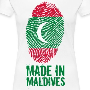 Made In Maldives Maldives ދިވެހިރާއްޖޭގެ ޖުމްހޫރި - Women's Premium T-Shirt