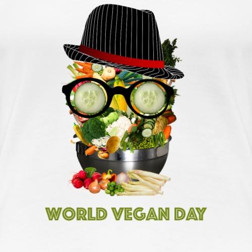 world vegan day - Women's Premium T-Shirt