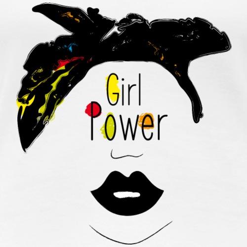 Le girl power, c'est ici ! - T-shirt Premium Femme