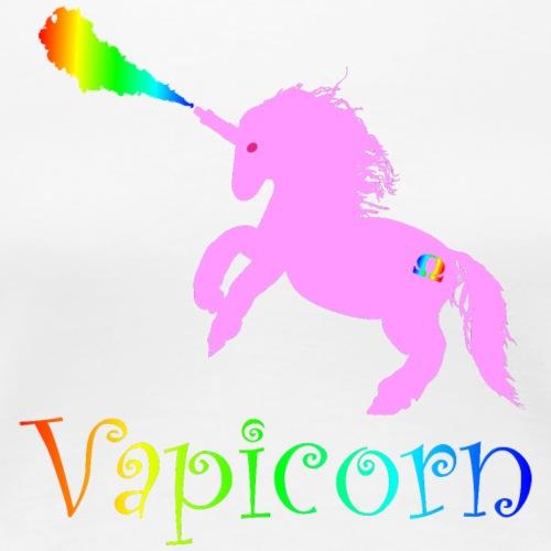 Vapicorn - Frauen Premium T-Shirt