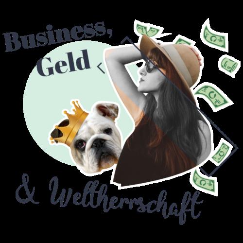 Business, Geld und Weltherrschaft - Frauen Premium T-Shirt