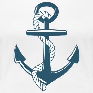 anchor - Women's Premium T-Shirt