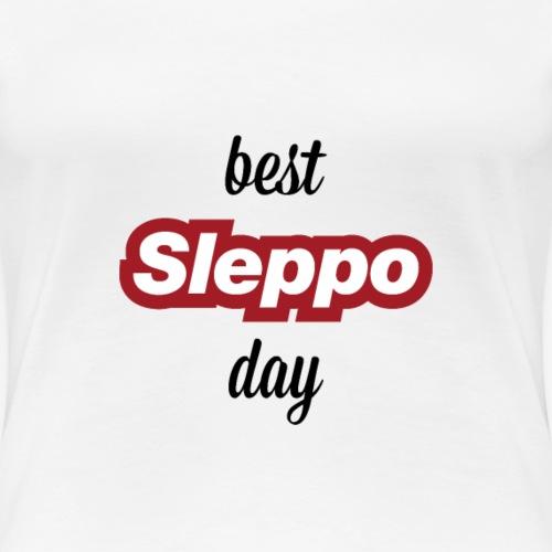 1^ COLLEZIONE - Best Sleppo Day - Maglietta Premium da donna