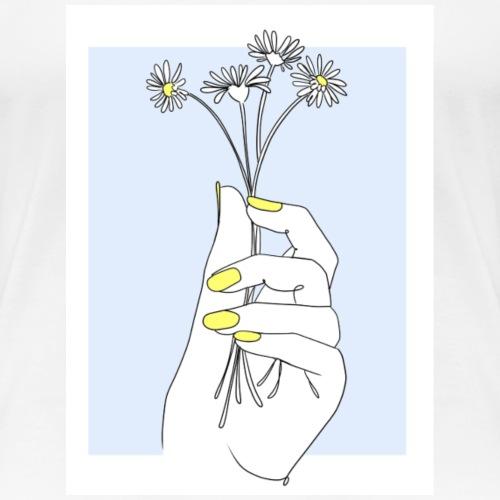 Daisies - Frauen Premium T-Shirt