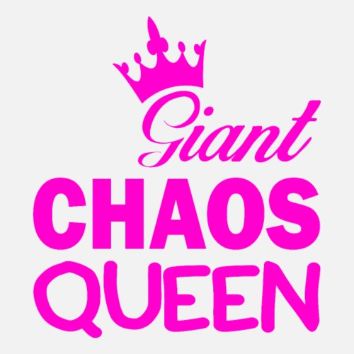Giant CHAOS Queen - Frauen Premium T-Shirt
