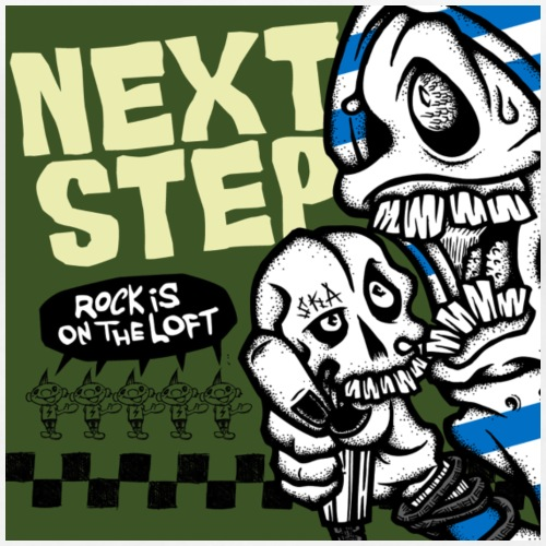 Rock is on the loft - Premium-T-shirt dam