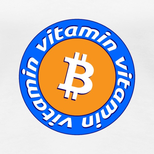 Vitamin B | Bitcoin -Apparel & Stuff Design - Frauen Premium T-Shirt