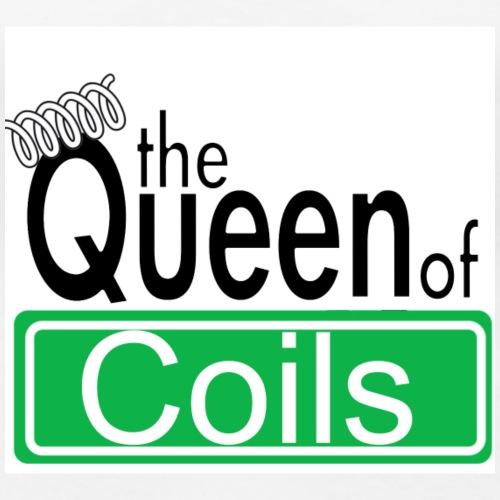 Queenof coils - Frauen Premium T-Shirt