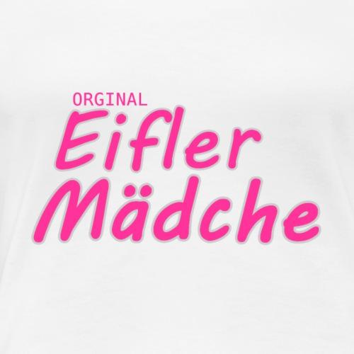 Orginal Eifler Mädche - Frauen Premium T-Shirt