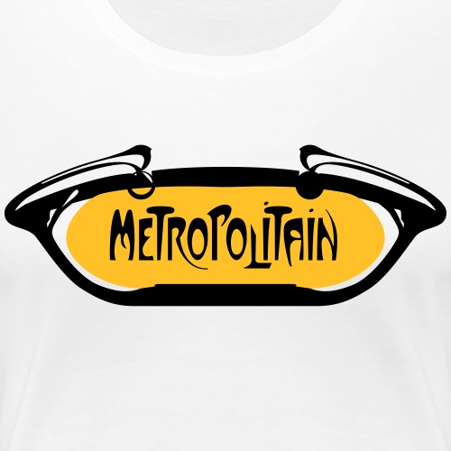 Metropolitain - T-shirt Premium Femme