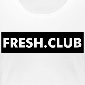 FRESH.CLUB - Black Flag - Vrouwen Premium T-shirt