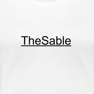 TheSable Sable T-shirt - Dame premium T-shirt