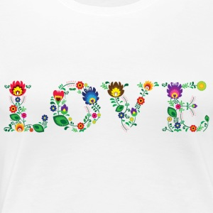 LOVE (horizontal) - Women's Premium T-Shirt
