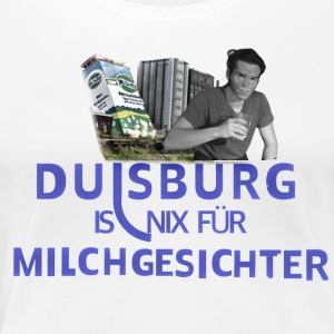 Duisburg is nothing for dairy faces - Women's Premium T-Shirt