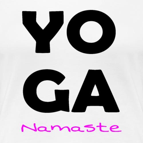 YOGA - T-shirt Premium Femme