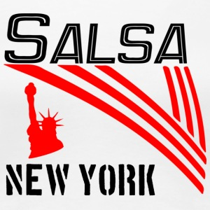 Salsa New York Classic - Pro Dance Edition - Women's Premium T-Shirt
