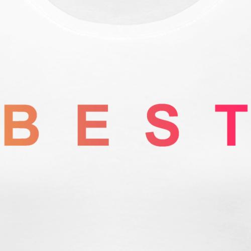 B E S T Magenta Orange - Frauen Premium T-Shirt