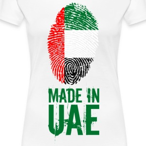 Made In UAE / United Arab Emirates - Frauen Premium T-Shirt