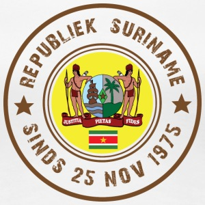 Republic of Surinam 1975 - Premium-T-shirt dam