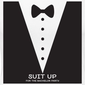 JGA / bachelor party: Suit Up for the - Women's Premium T-Shirt