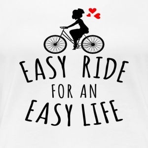 EASY RIDE - Dame premium T-shirt