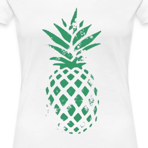 Ananas vert - T-shirt Premium Femme