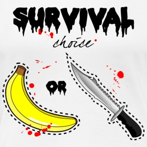 survival dilemma - Women's Premium T-Shirt
