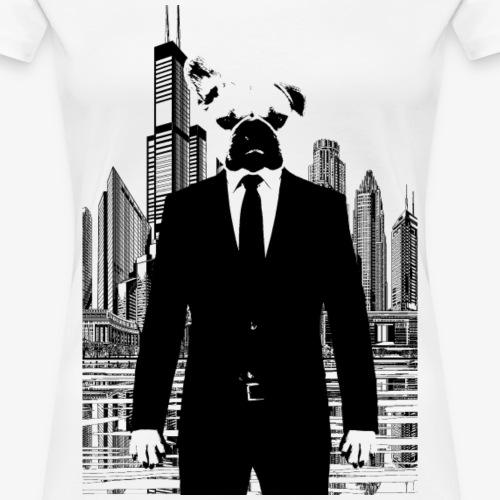 Bussines Bully - Französische Bulldogge - Frauen Premium T-Shirt