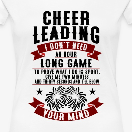 cooles Cheerleader T-Shirt - Frauen Premium T-Shirt
