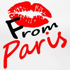 kiss_from_Paris - Vrouwen Premium T-shirt