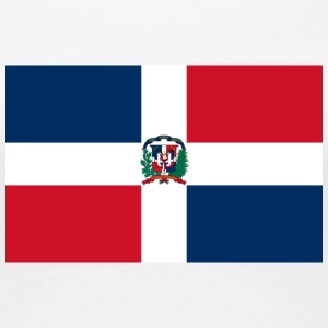 National Flag Of The Dominican Republic - Women's Premium T-Shirt